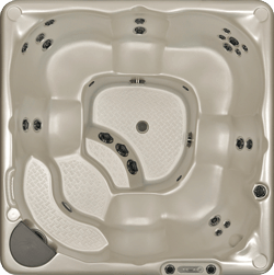 Hot Tub Model 380 Top View Lakeshore Pools & Hot Tubs