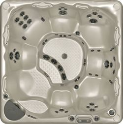 Hot Tub Model 750 top view