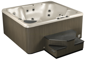 Hot tub model 350 angled, Lakeshore Pools & Hot Tubs