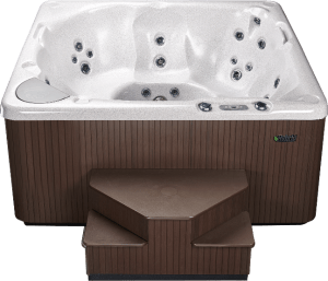 Hot Tub Model 360 Angled Lakeshore Pools & Hot Tubs