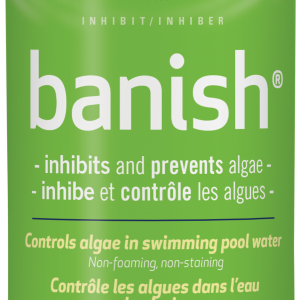 BioGuard Banish inhibits and prevents algae