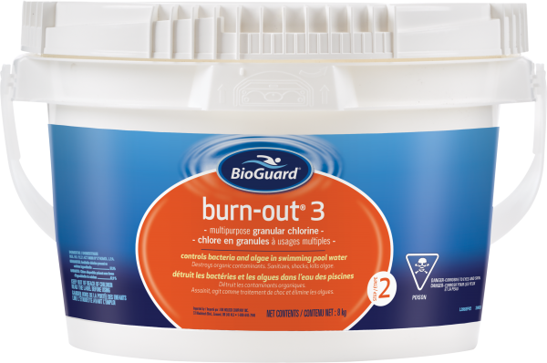 BioGuard Burn-Out 3, 8 kg