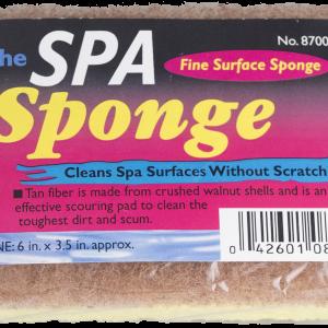 "Spa Sponge 6"" x 3.5"""