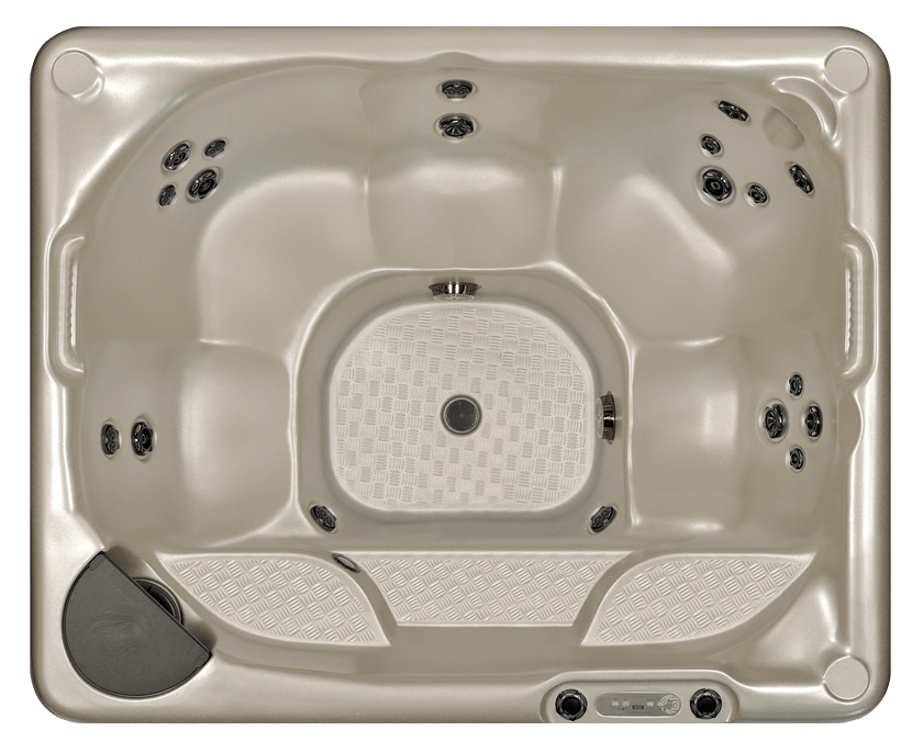 Beachcomber Hot Tub Model 340 top view Lakeshore Pools & Hot Tubs