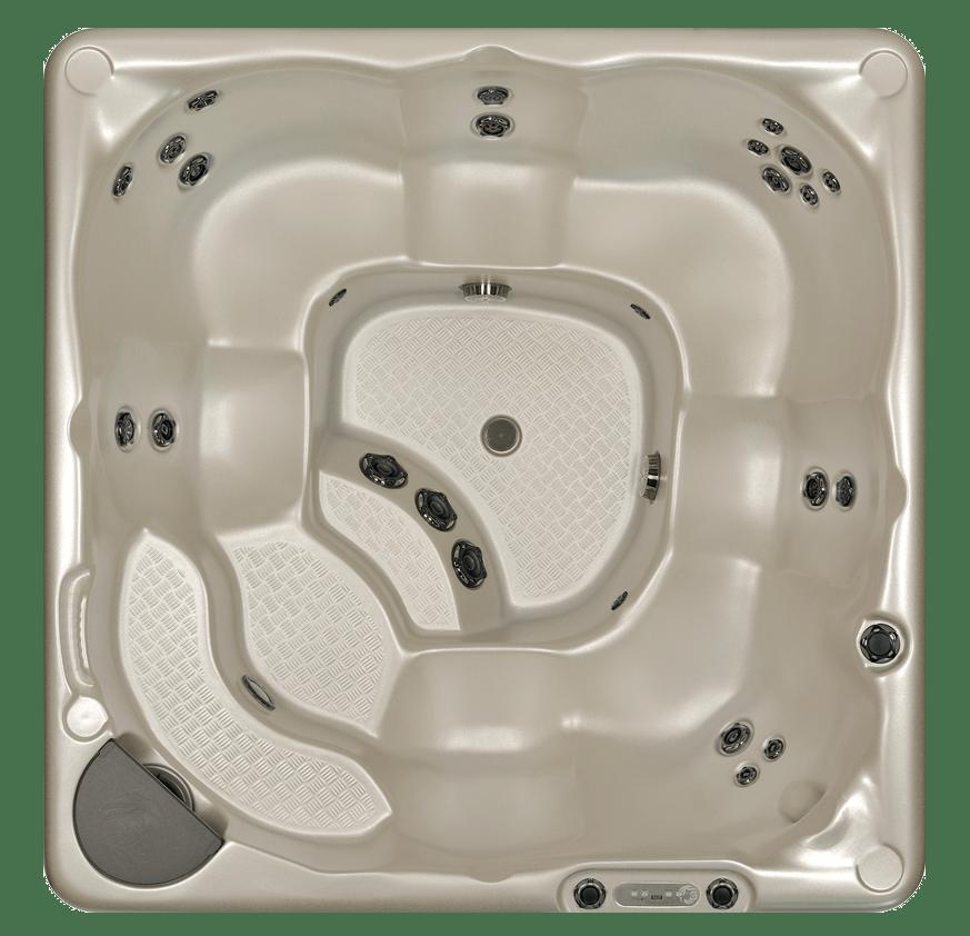 Beachcomber Hot Tub Model 380 top view Lakeshore Pools & Hot Tubs