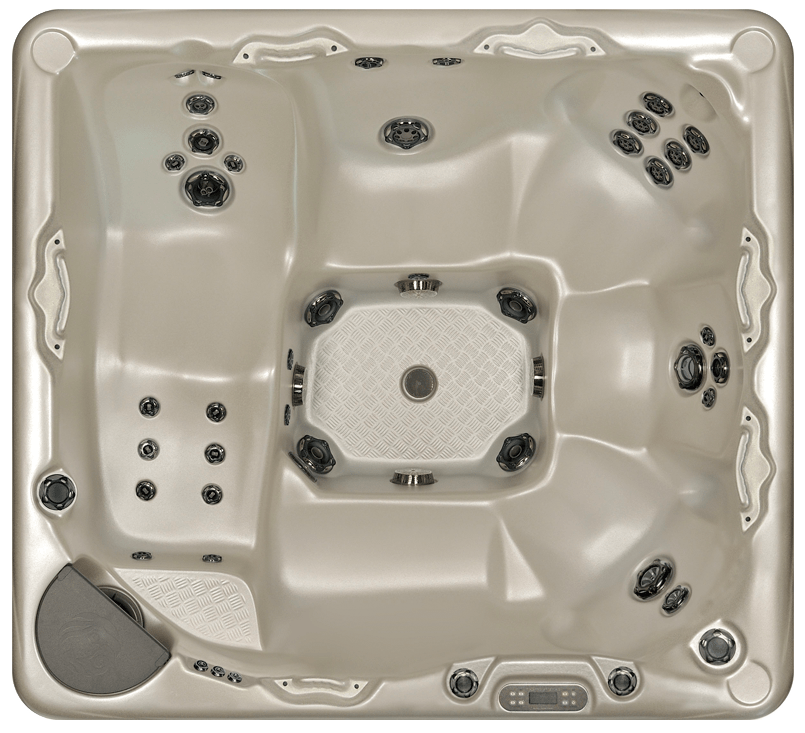 Hot Tub Model 725 Top View Lakeshore Pools & Hot Tubs Mississauga