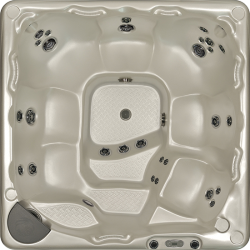 590 Model Beachcomber Hot Tub Top View
