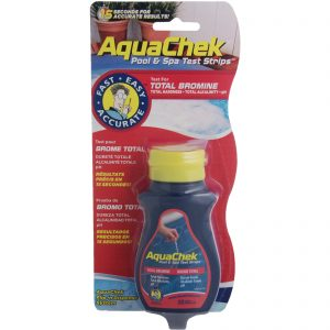 Aquachek Bromine Test Strips is a convenient, quick and easy at home water test