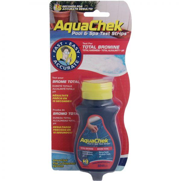Aquachek Bromine Test Strips 50/pkg hot tub spa