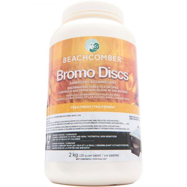 Beachcomber Bromo Discs Sanitizer Controls Bacteria and Algae in Spa Waters Treatment 2 Kg