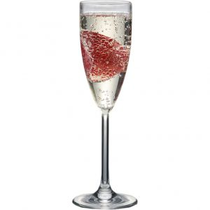 champagne glass unbreakable suitable for poolside and hot tubs