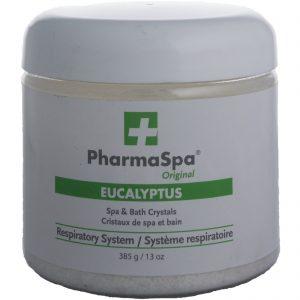 PharmaSpa Eucalyptus Spa & Bath Crystals good for respiratory system 385 g