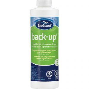 BioGuard Back-up is a non-copper based algaecide
