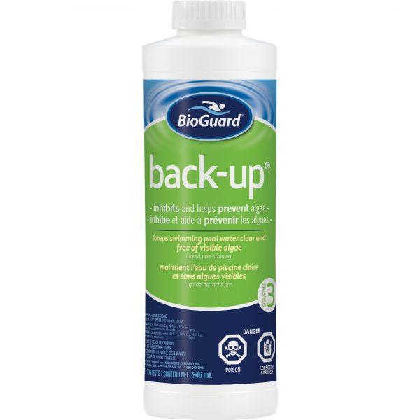 BioGuard Back-up is a non-copper based algaecide