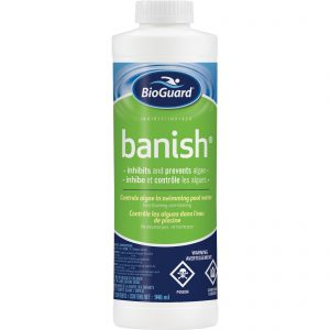 BioGuard Banish is step 3 in Bioguard?s 3 step water care system