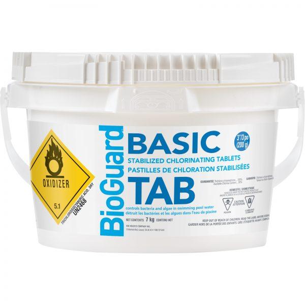 "BioGuard Basic 3"" Tabs Chlorine Sanitizer for pools"