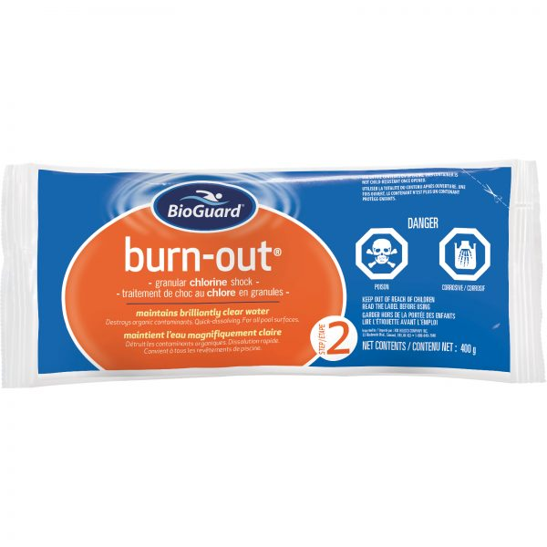 BioGuard Burn-Out is a premium high-powered chlorine shock
