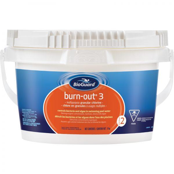 BioGuard Burn-Out 3 is a premium high-powered chlorine shock