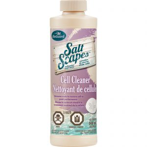 BioGuard Salt Scapes Cell Cleaner to clean salt cells