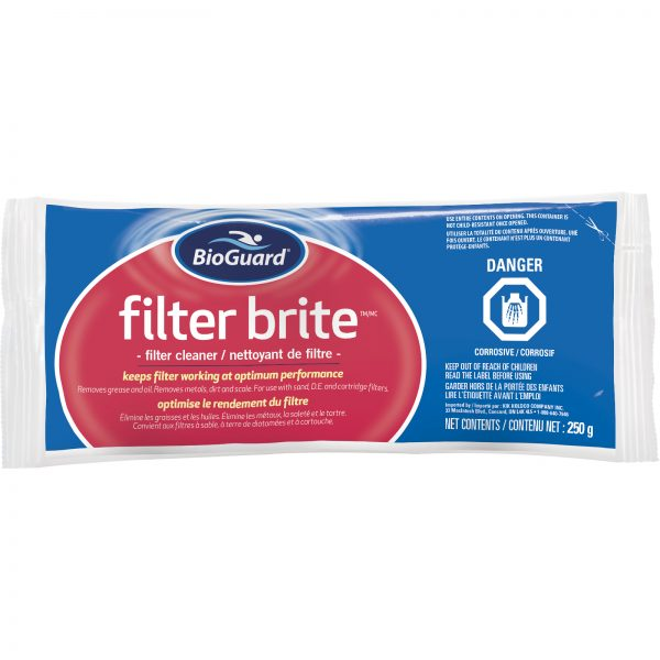 BioGuard Filter Brite - filter cleaner 250 g