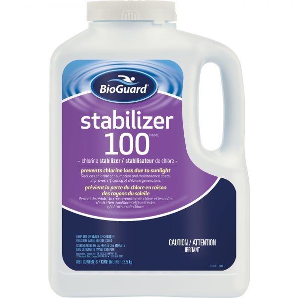 BioGuard Stabilizer 100 2.5 kg Prevents chlorine loss due to sunlight
