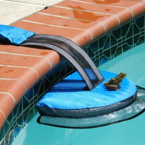 Frog Log critter rescue ramp for pools
