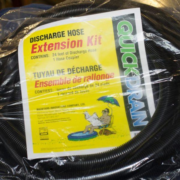 Quick Drain Discharge Hose Extension Kit
