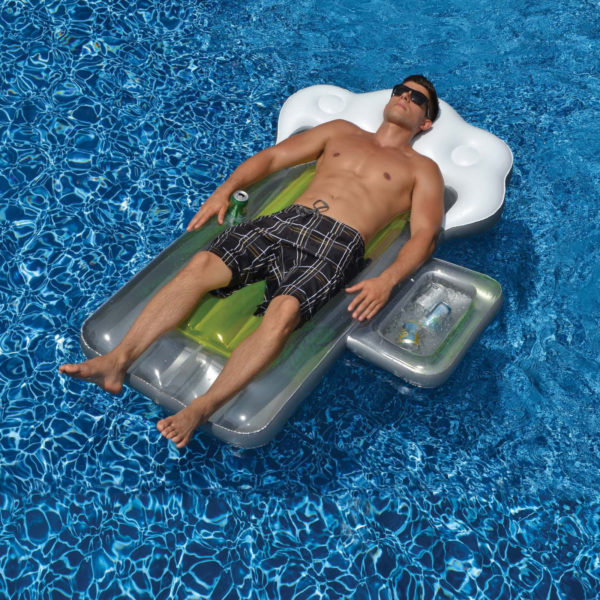 Pool Float Beer Mug Cooler