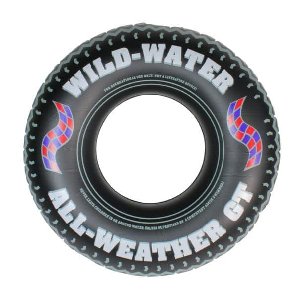 Swimline Printed Tire Tube Pool Float Toy