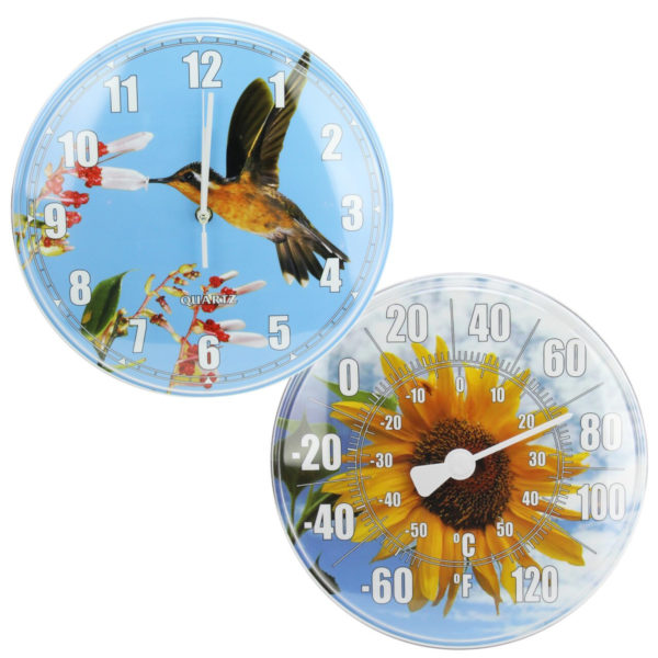 Pool Thermometer and Clock Waterproof