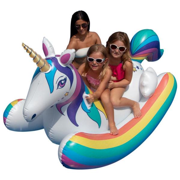 Swimline Unicorn Rocker Pool Float Toy