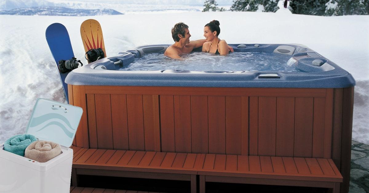 hot tub towel warmer