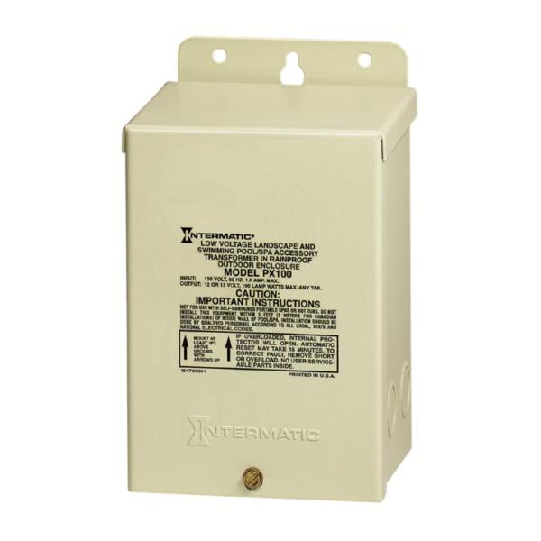 Intermatic Tranformer pool lighting system