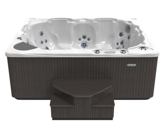 Beachcomber Hot Tub 540 HYBRID Opal Ebony Front