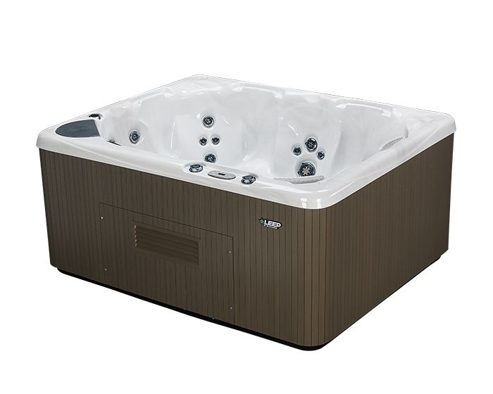 Beachcomber Hot Tub LEEP Opal Ebony side high