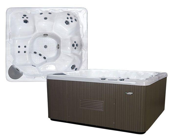 Beachcomber Hot Tub 550 LEEP Opal Ebony - Setup