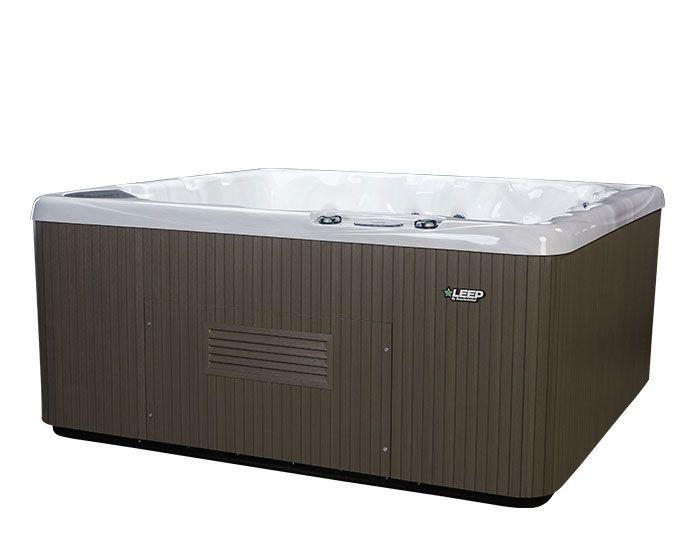 Beachcomber Hot Tub 550 LEEP Opal Ebony - Side low
