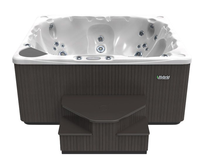 Beachcomber Hot Tub 570 HYBRID Opal Ebony - Front