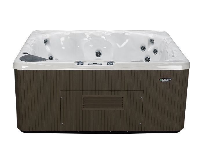 Beachcomber Hot Tub 570 LEEP Opal Ebony - Front No steps