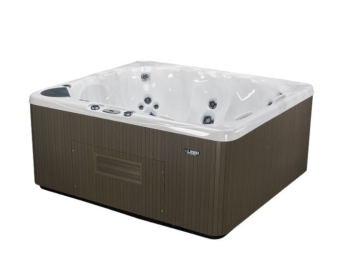 Beachcomber Hot Tub 570 LEEP Opal Ebony - Side High