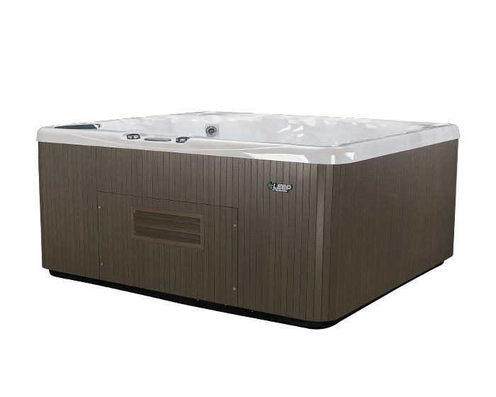 Beachcomber Hot Tub 570 LEEP Opal Ebony - Side Low