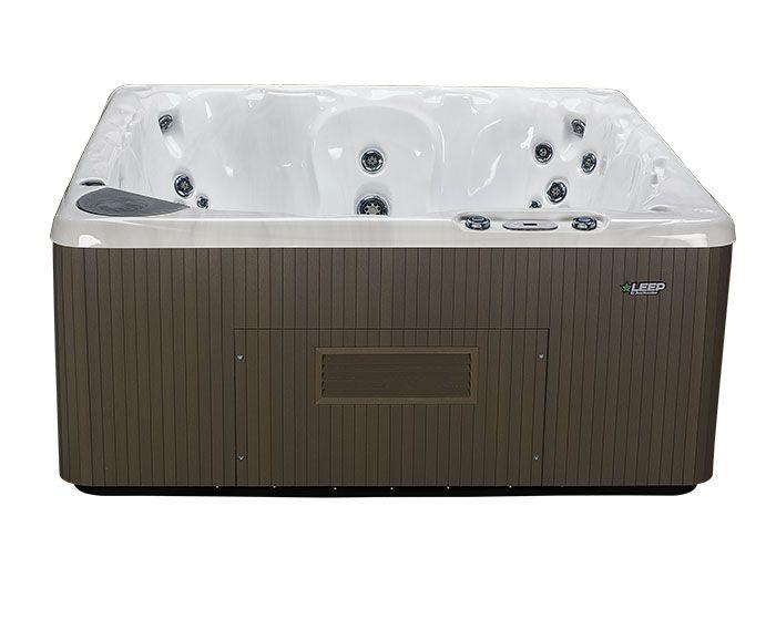 Beachcomber Hot Tub 590 LEEP Opal Ebony - Front No Steps