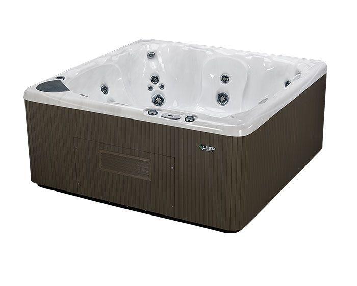 Beachcomber Hot Tub 590 LEEP Opal Ebony - Side High