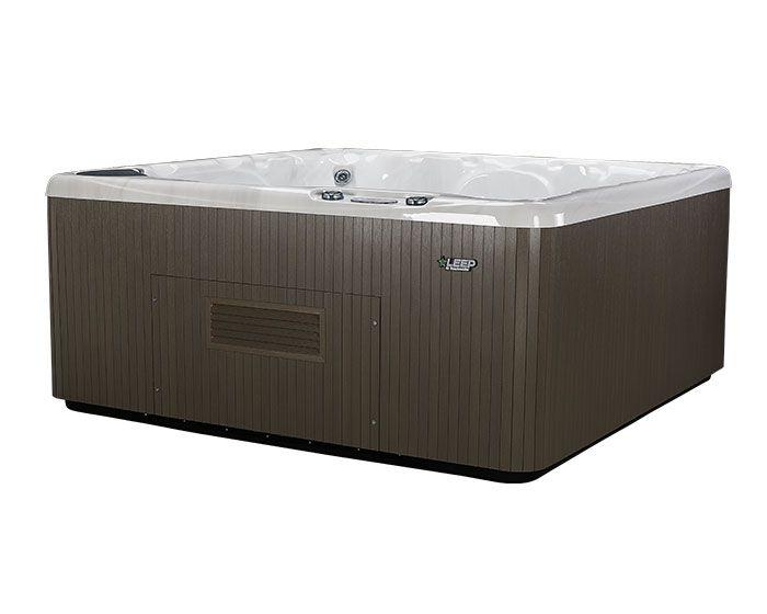 Beachcomber Hot Tub 590 LEEP Opal Ebony - Side Low