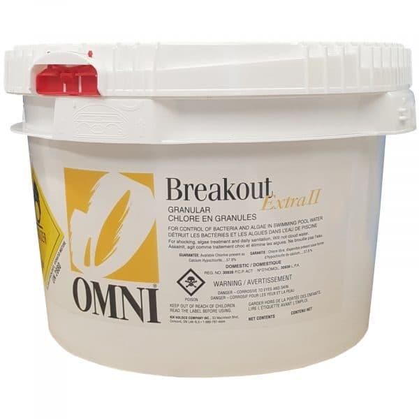 Bioguard Burnout 3 Replacement Substitute Omni Breakout Extra II 2 7kg Pool Chlorine Shock