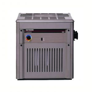 Hayward Millivolt Natural Draft Inground Pool Heater Model Number H2501C Discontinued Product 250000 BTU Low Altitude Works Below 2000 feet Cupro-Nickel Heat Exchanger Improved Flow Rate Bypass Control No Electrical Connection Needed Rust Resistant Salt Pool Compatible